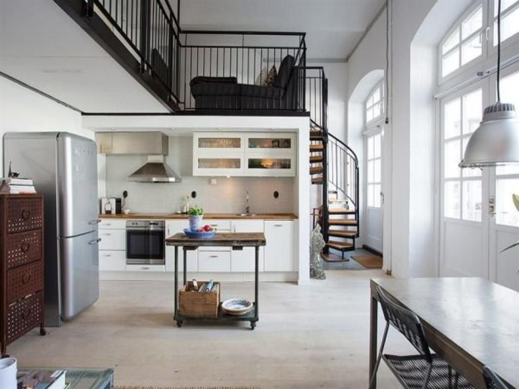 Home Designs Small Spaces Warehouse Loft Apartment