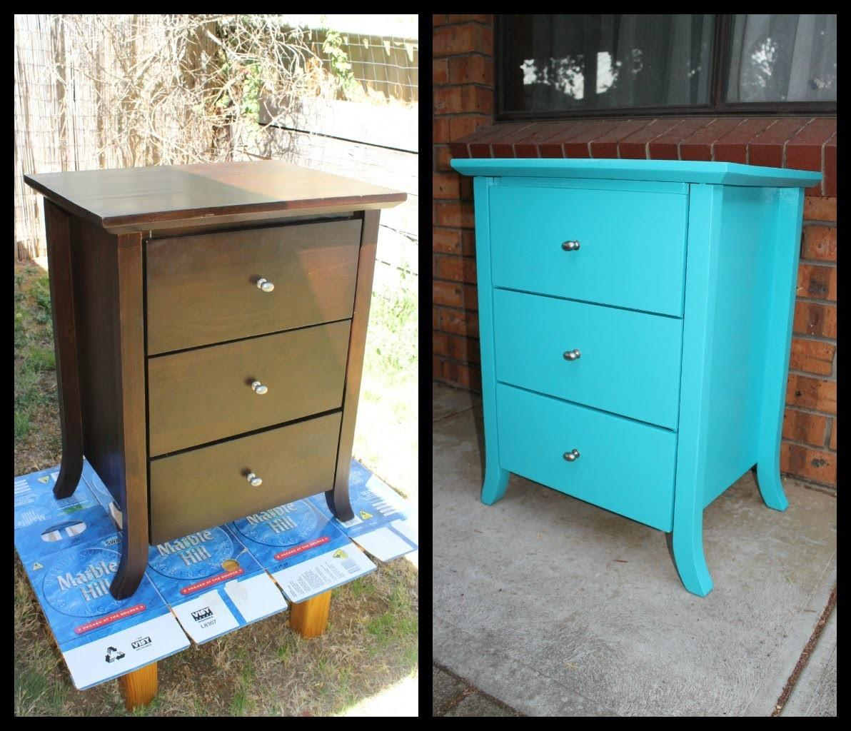 Home Diy Paint Old Furniture