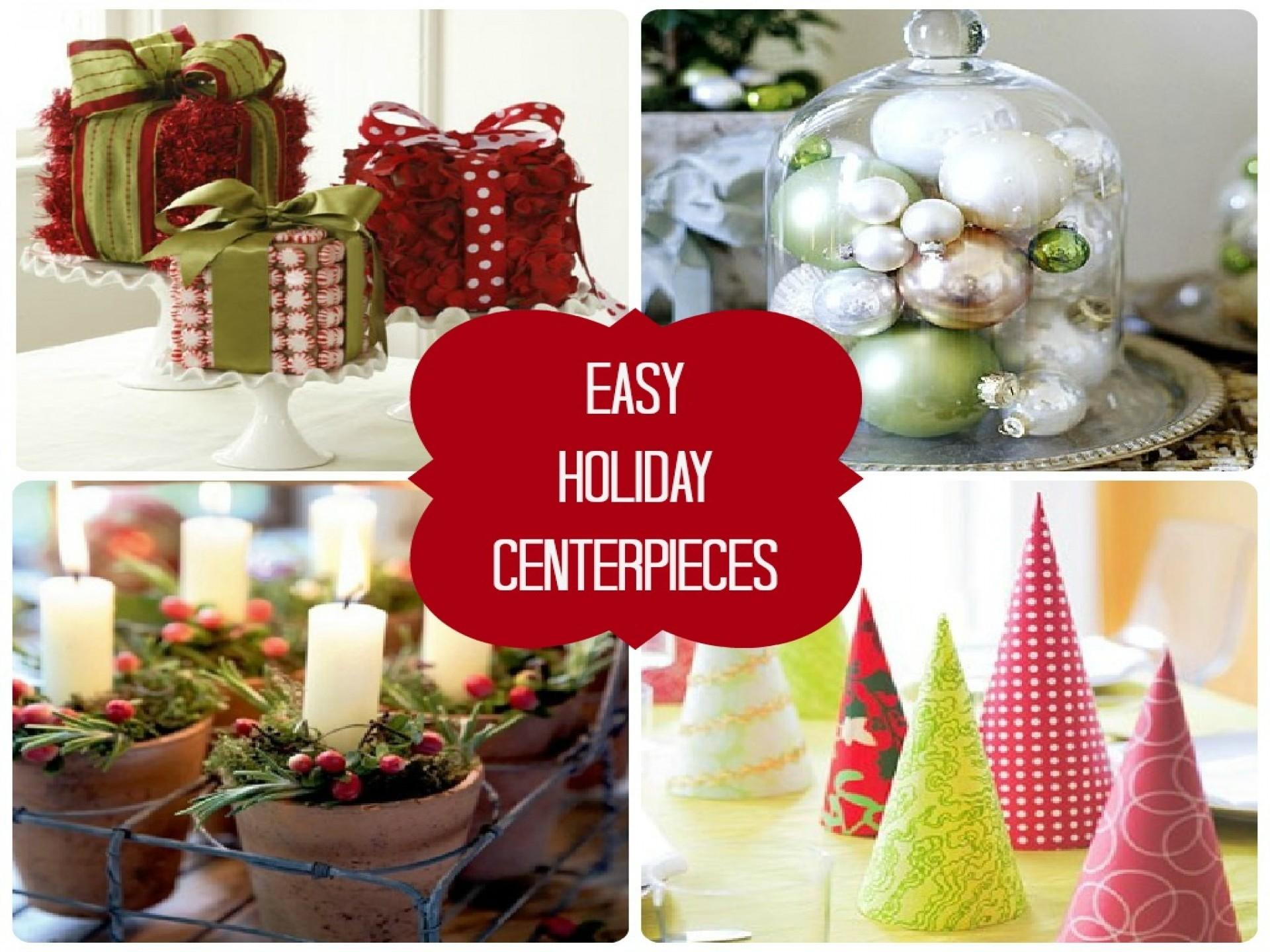 Home Element Easy Affordable Christmas Centerpiece