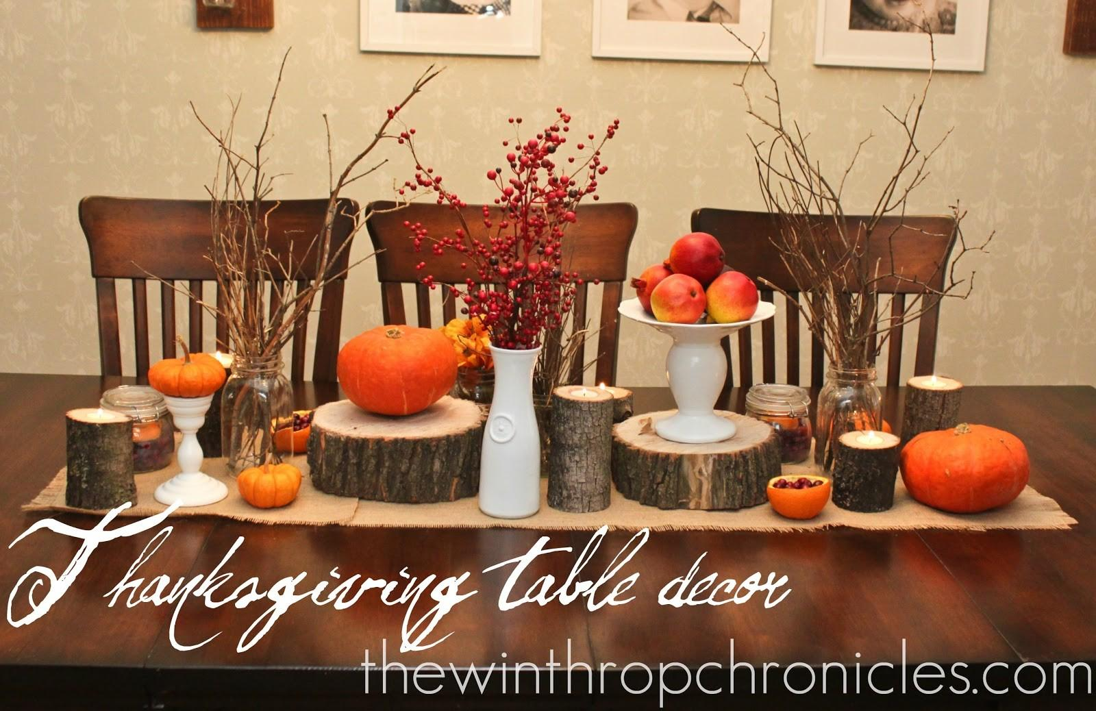 Home Element Thanksgiving Table Decorating Ideas