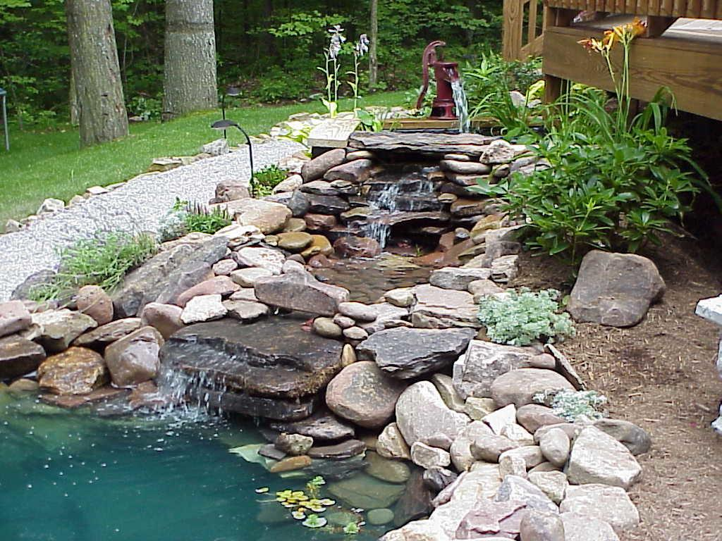 Home Garden Ponds Interior Design Deco