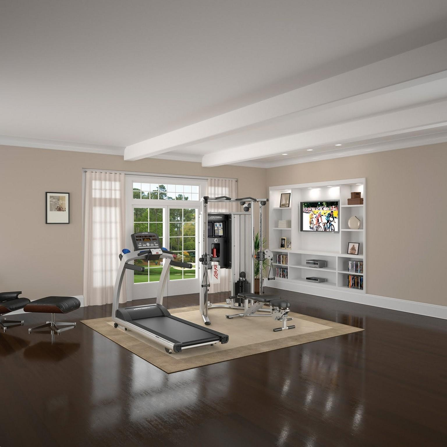 Home Gym Ideas Applied Real Good