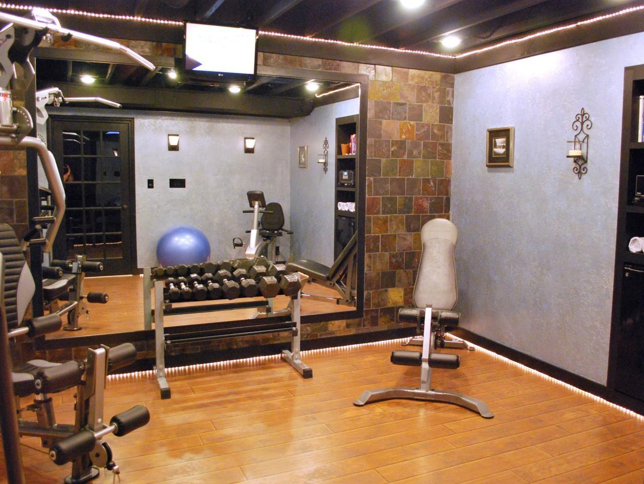 Home Gyms Any Space Decorating Design Ideas