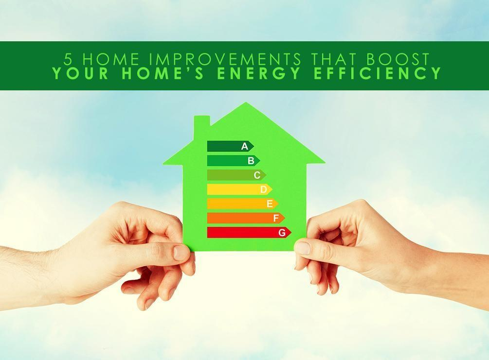 Home Improvements Boost Your Energy Efficiency