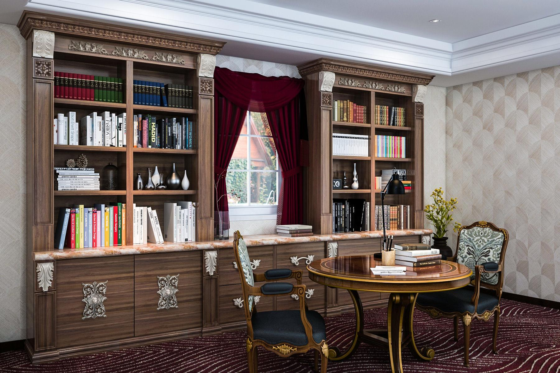 Home Library Design Ideas 2017