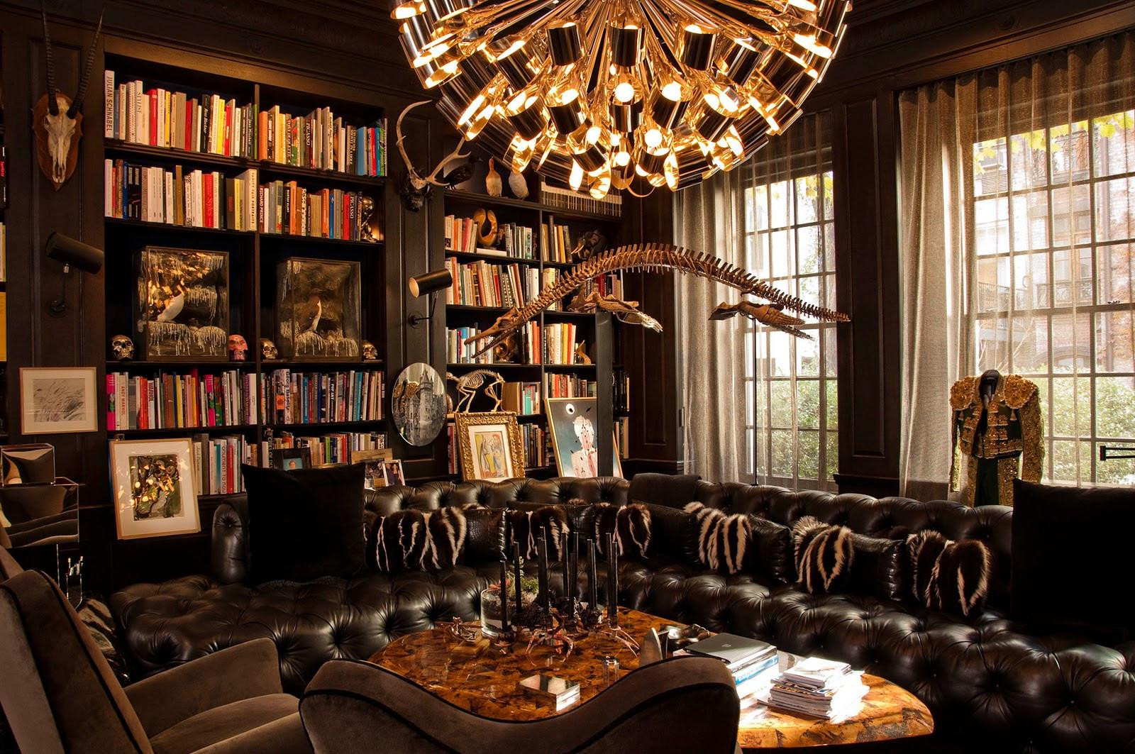 Home Library Ideas Simple Phenomenal