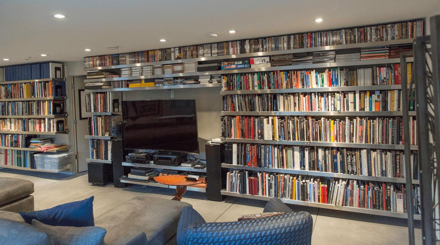Home Library Shelving Systems