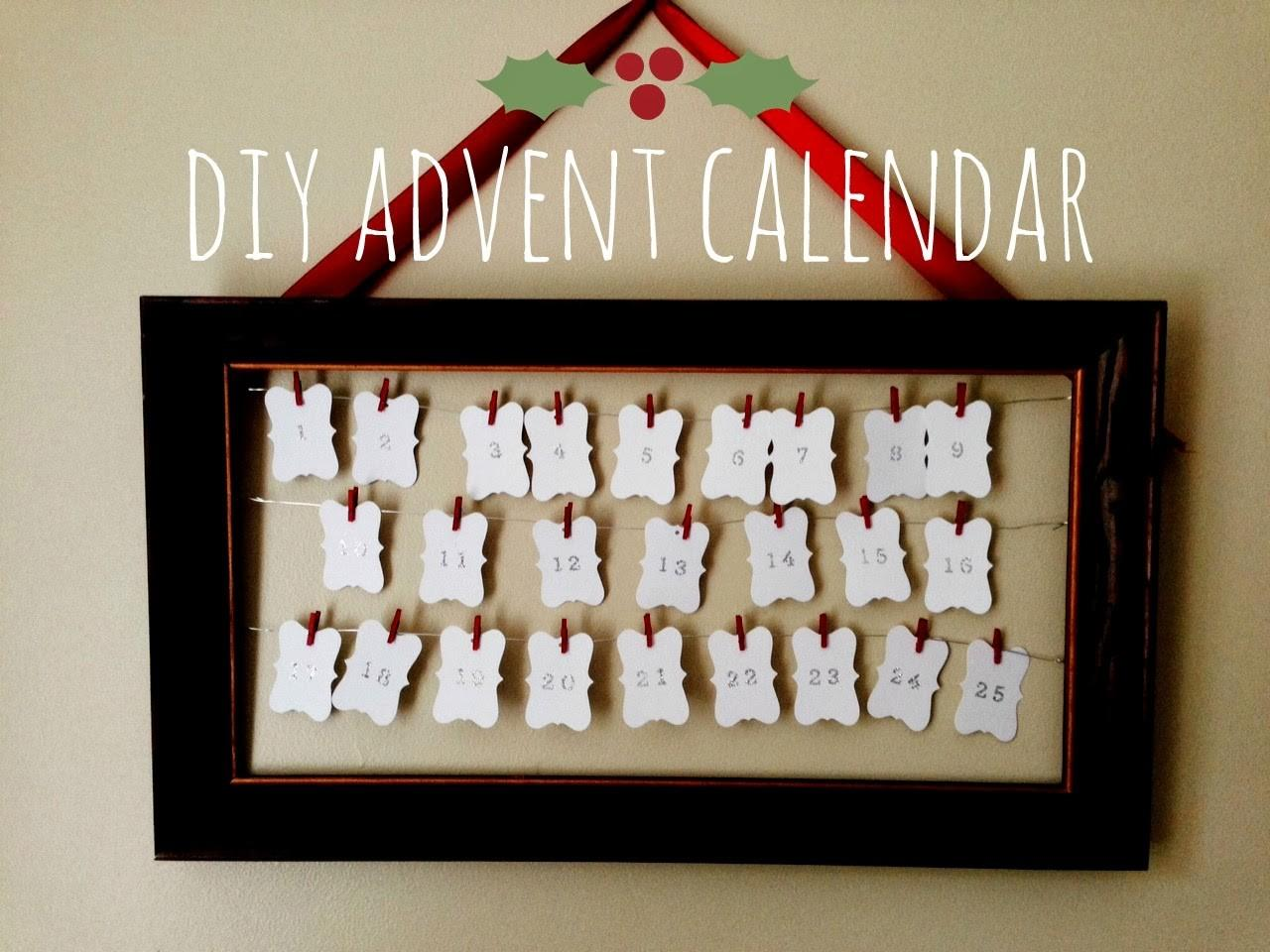Home Made Modern Diy Advent Calendar
