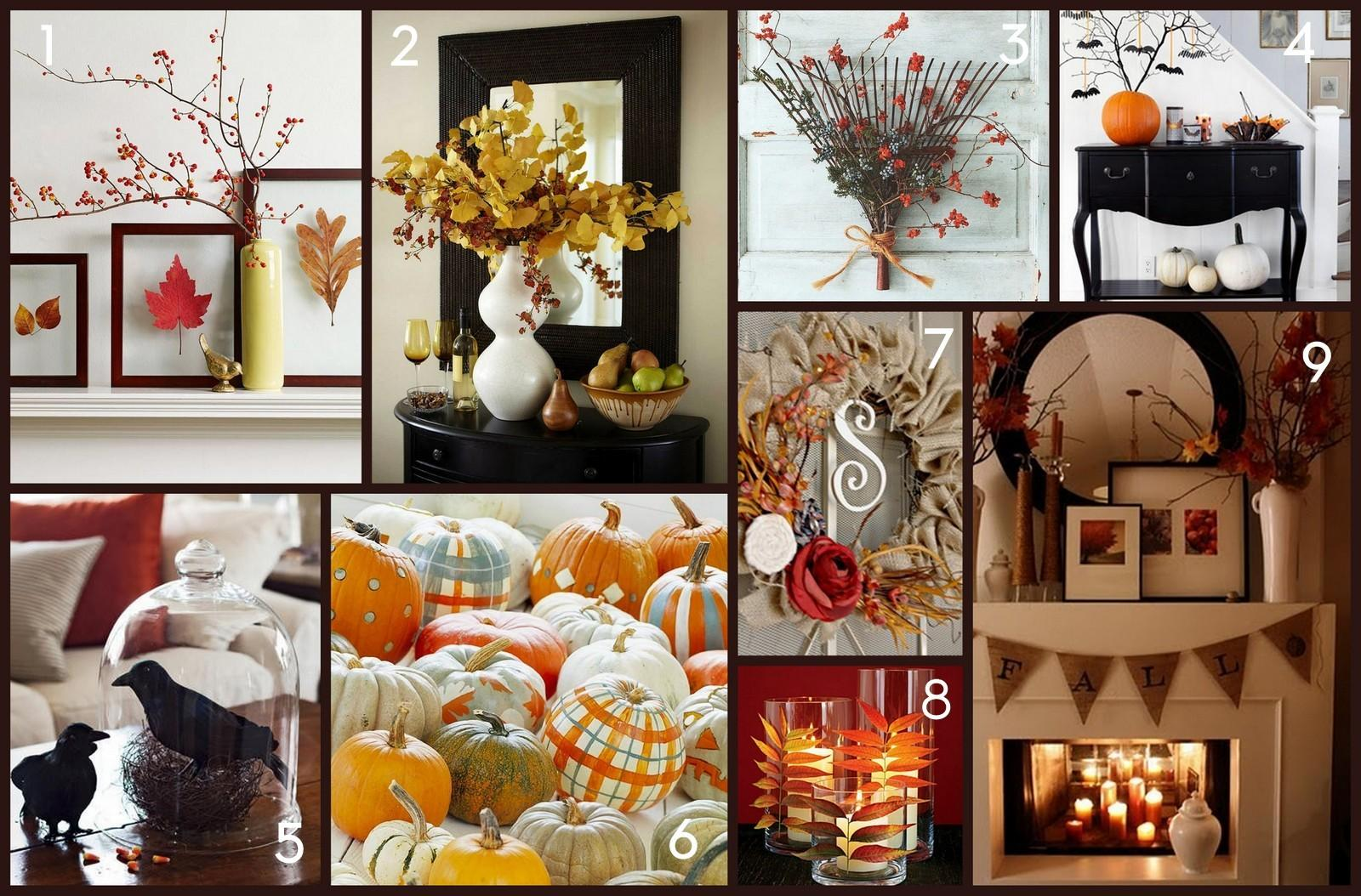 Home Made Modern Easy Fall Decorating Ideas