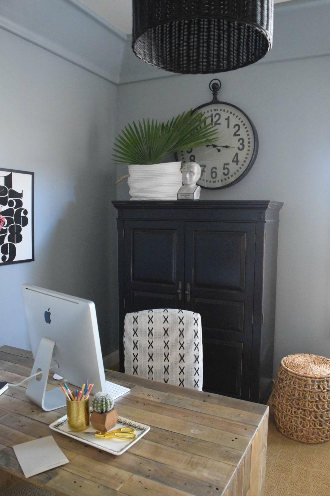 Home Office Client Before After Nesting Grace