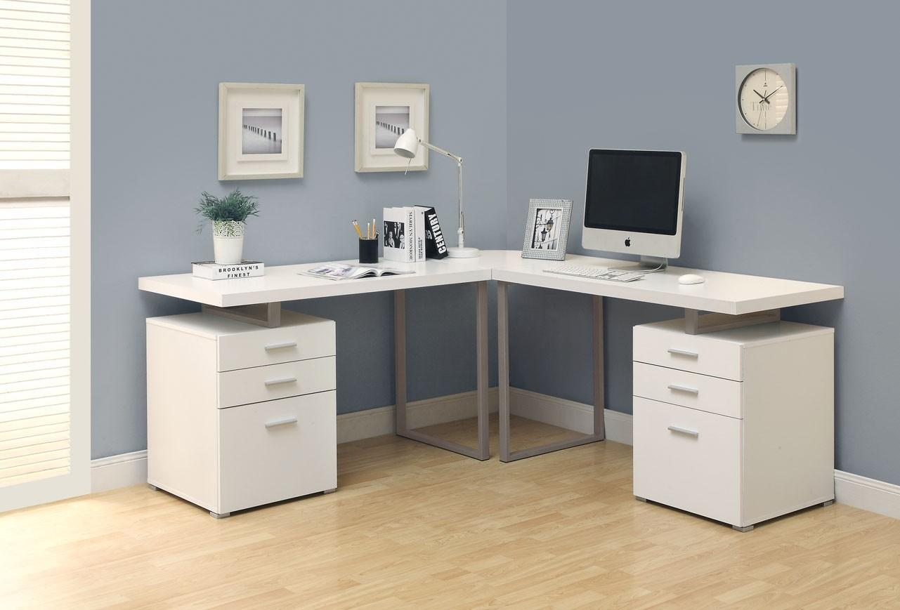 - Home Office Corner Desk Ideas Built Deskc21 - Decoratorist - #61290