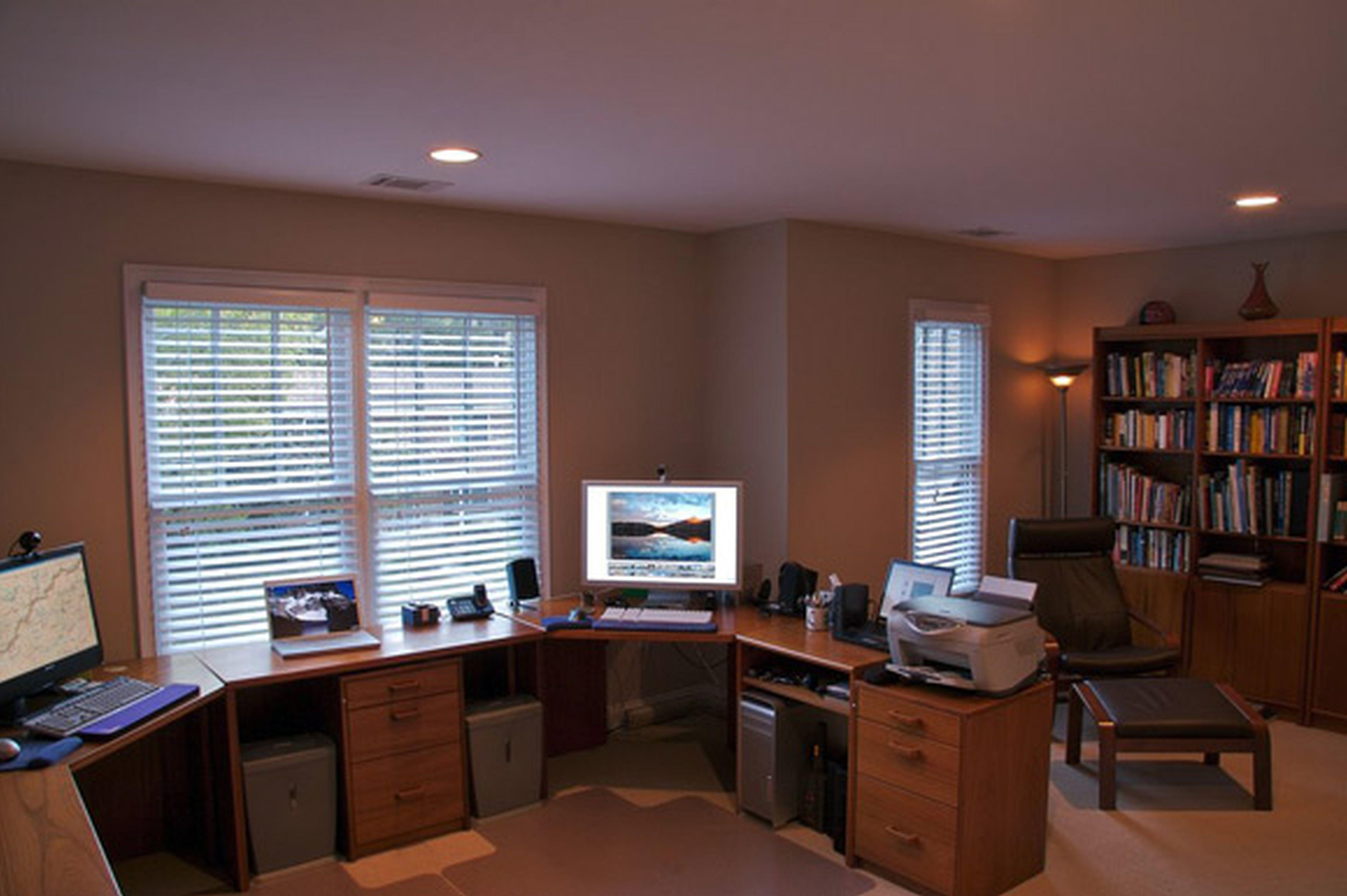 Home Office Decorating Small Layout