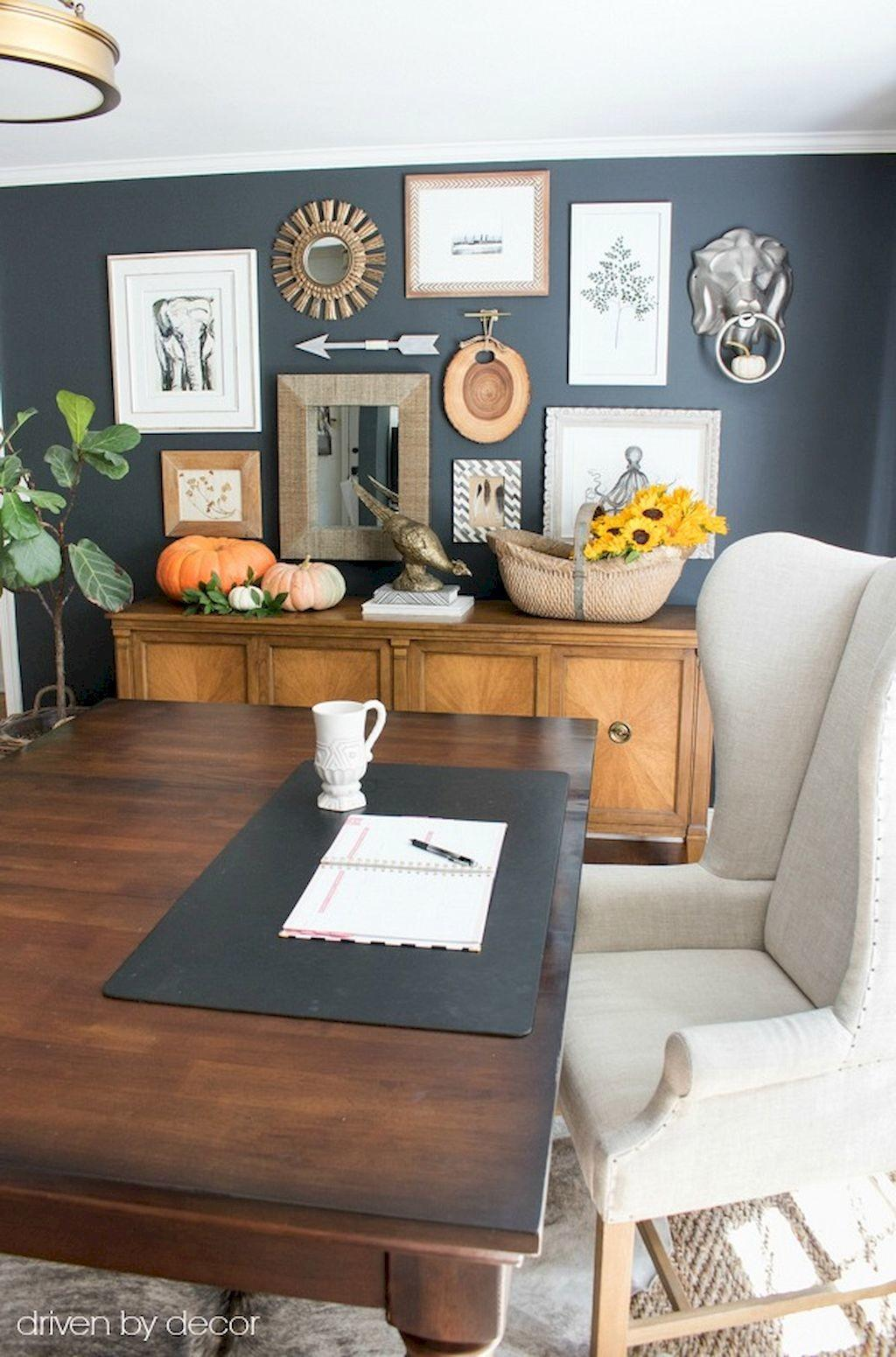Home Office Eclectic Decorating Ideas