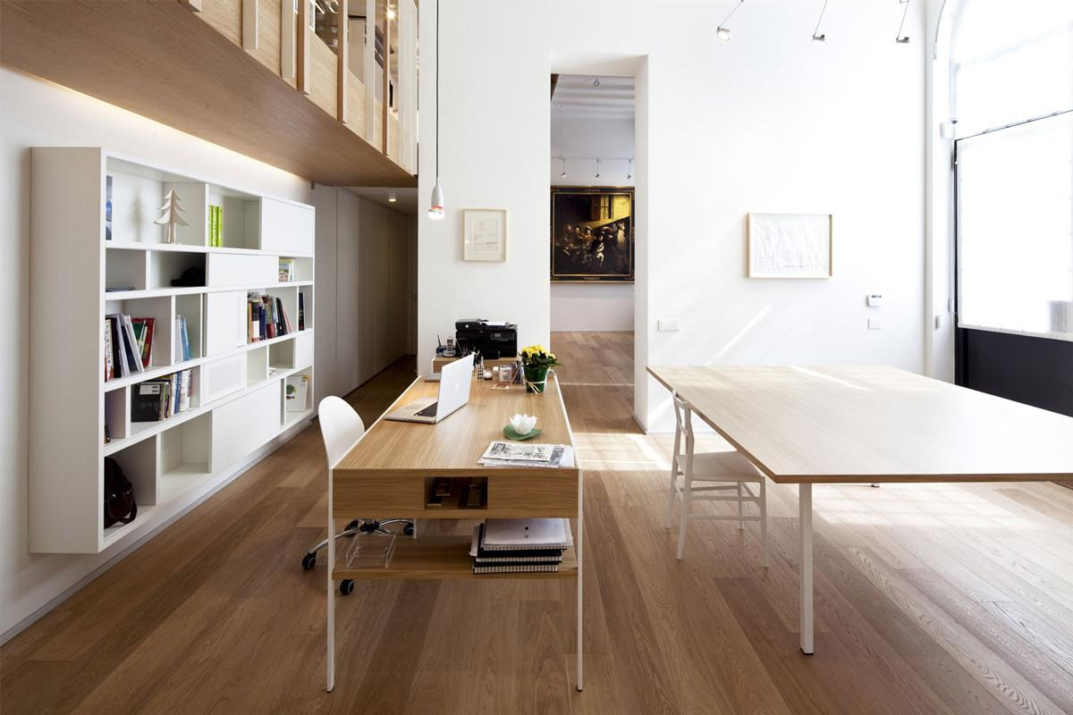 Home Office House Sant Ambrogio Milan Takane