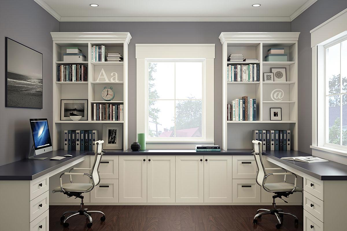Home Office Ideas Built Cabinets