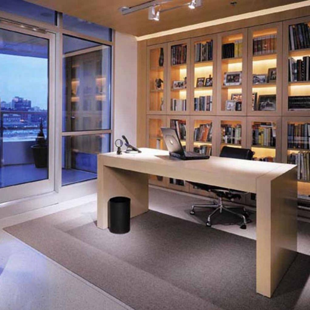 Home Office Library Furniture Trendy Small Den