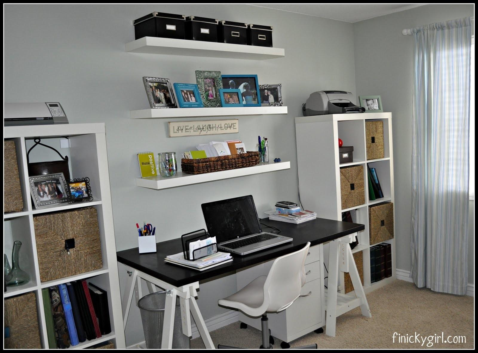 Home Office Makeover Industrial Desc Bankers