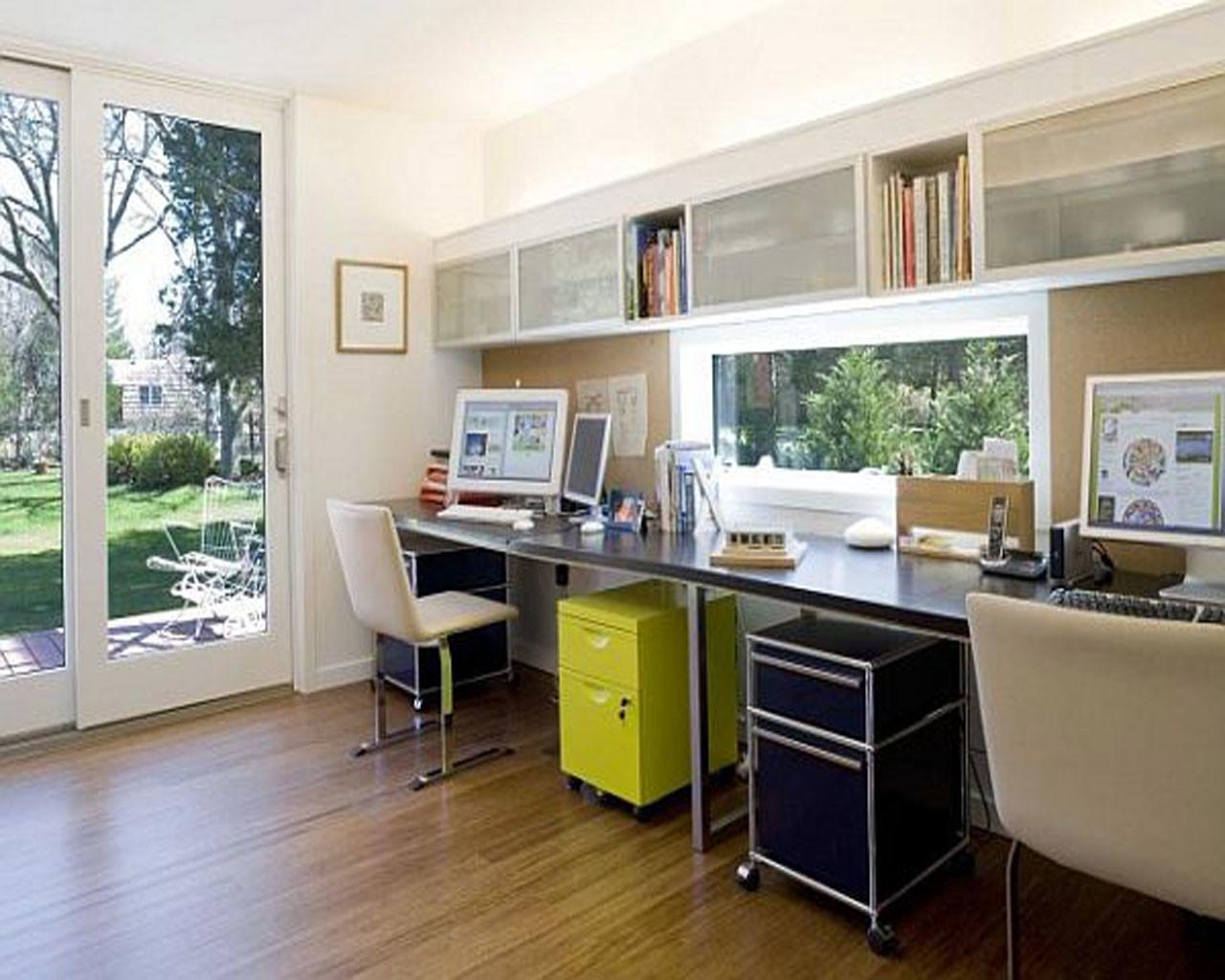 Home Office Modern White Decor Leather