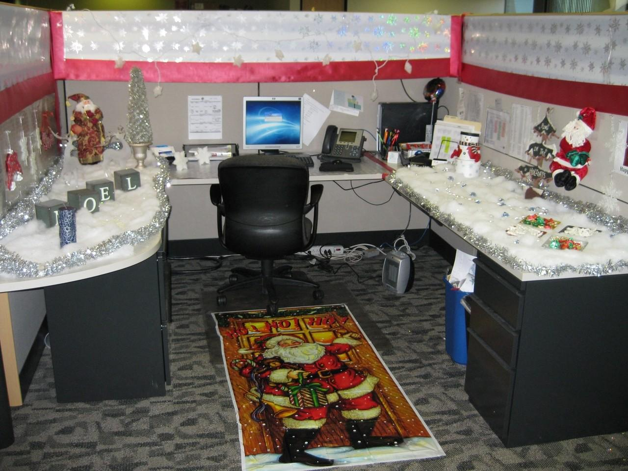 Home Priority Compact Office Cubicle Decoration