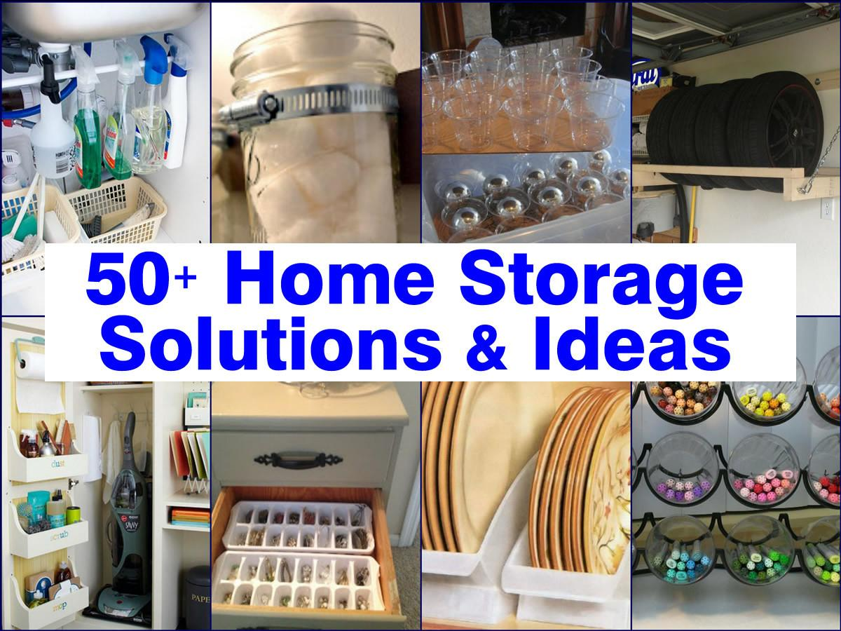 Home Storage Solutions Ideas
