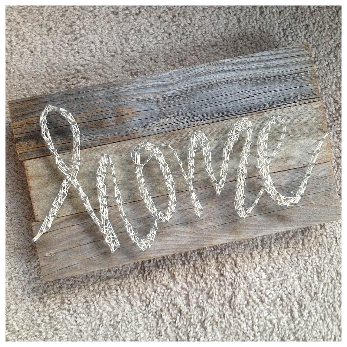 Home String Art Diy Gift Printable Printables