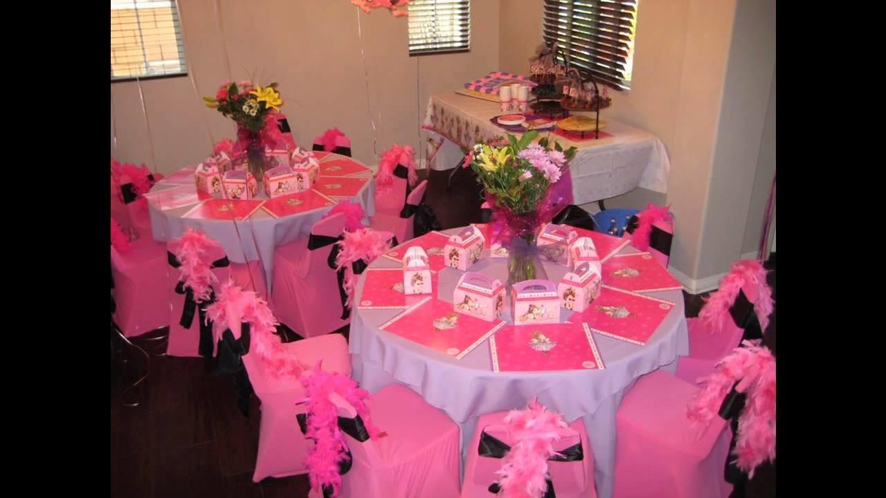 Home Table Birthday Party Decoration Ideas