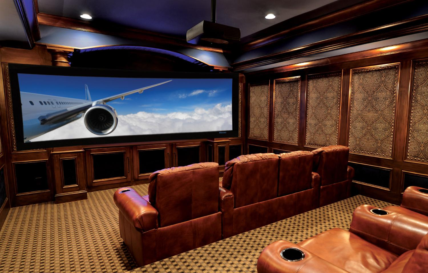 Home Theater Media Rooms Acoustics Soundproofing