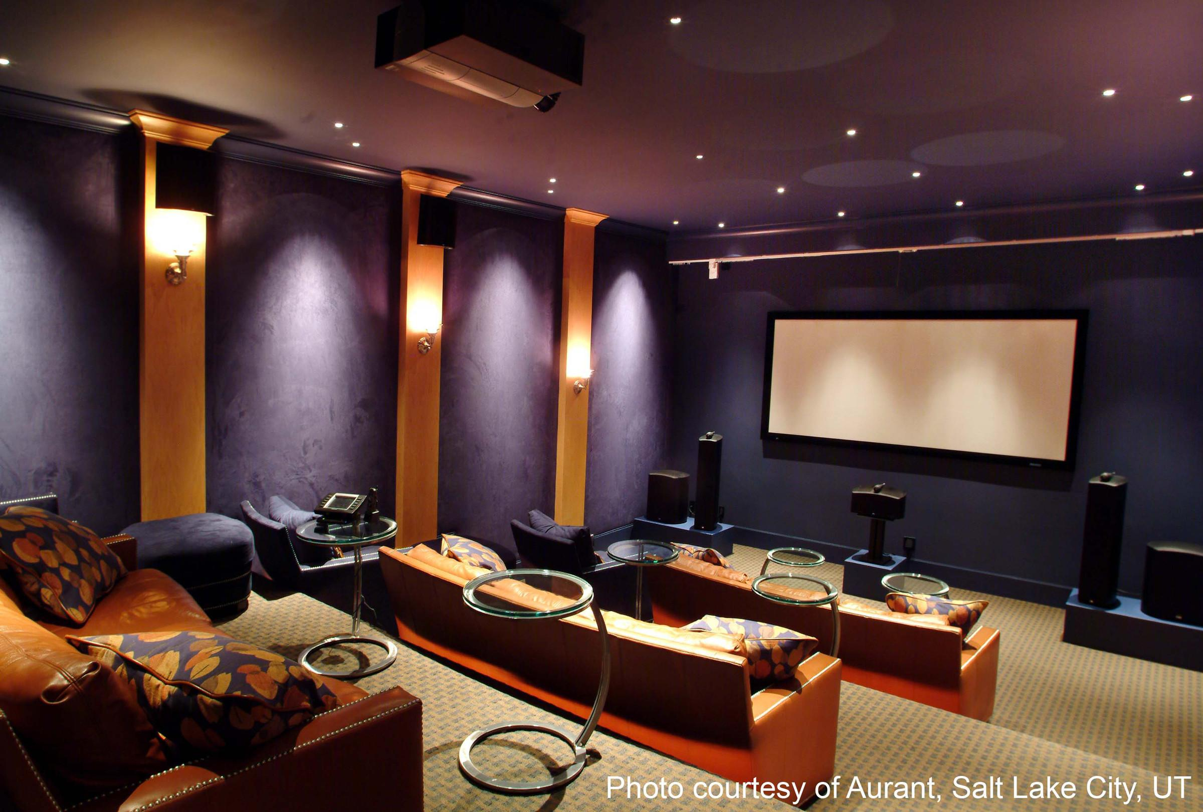 Home Theater Rooms Design Ideas 1000