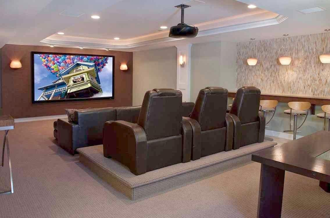 Home Theater Seating Ideas Uncategorized