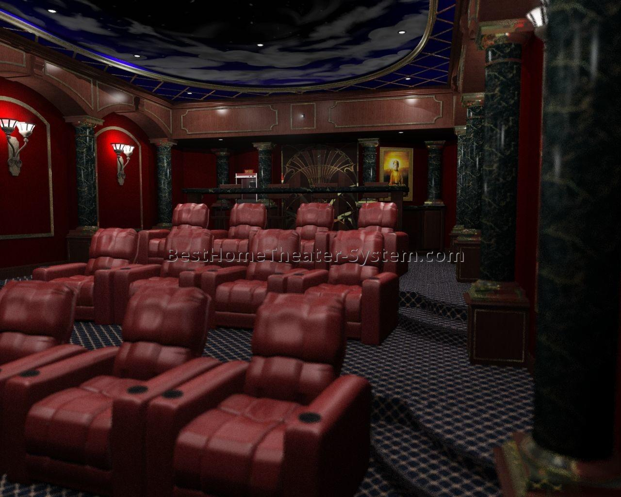 Home Theater Seating Sofa Best Systems