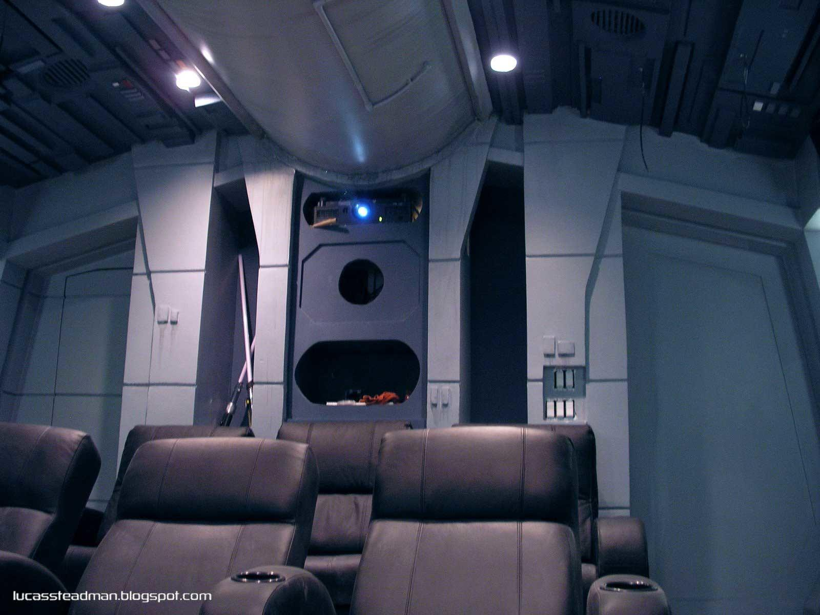Home Theater Star Destroyer Prop Freaks
