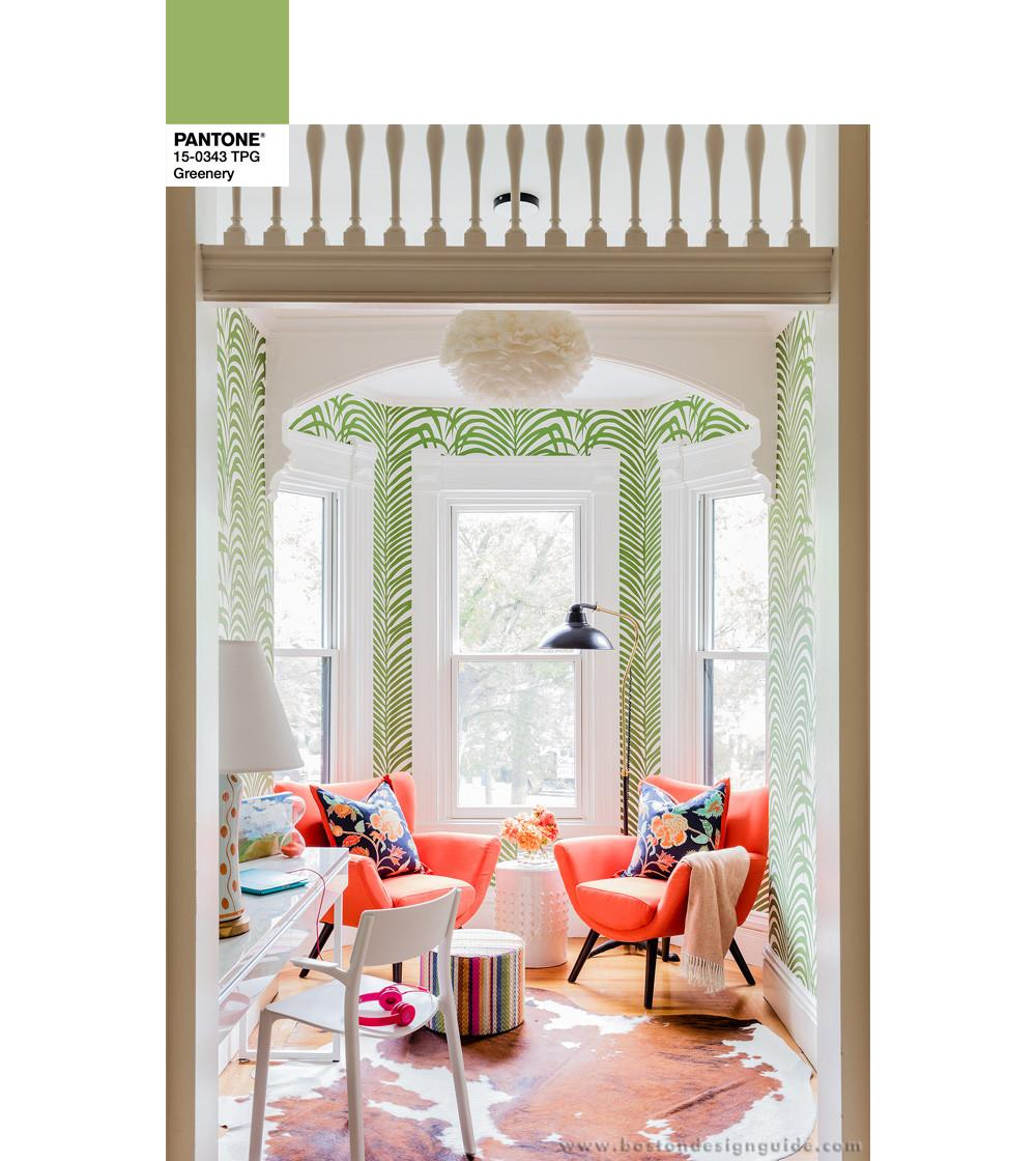 Home Trends Using Pantone Color Year 2017 Greenery