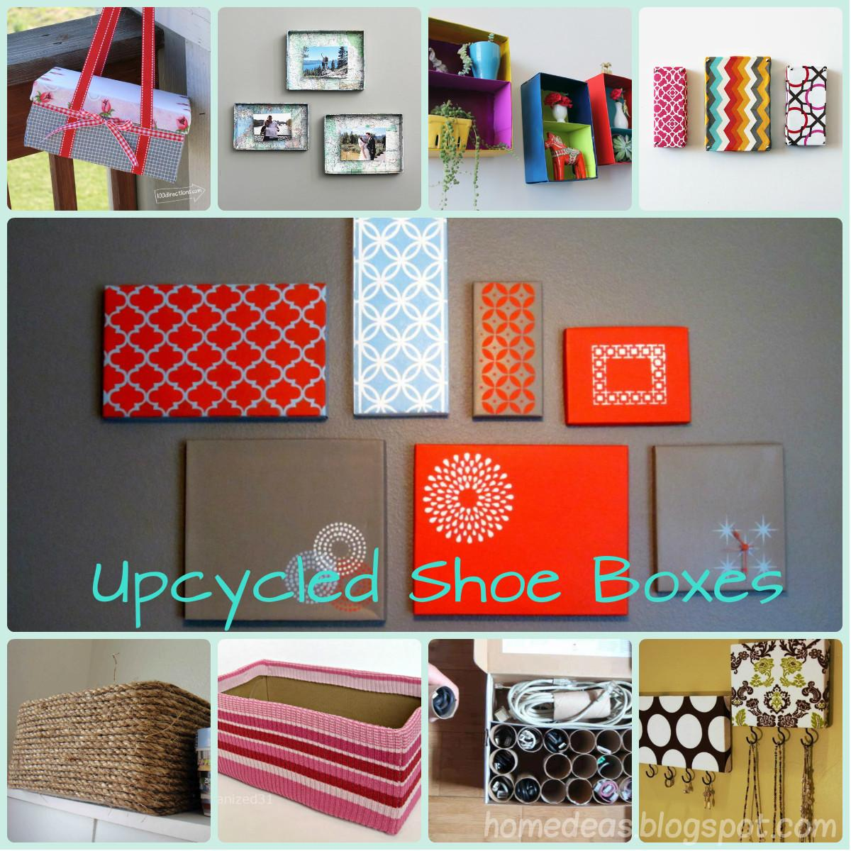 Homedeas Upcycling Shoe Boxes