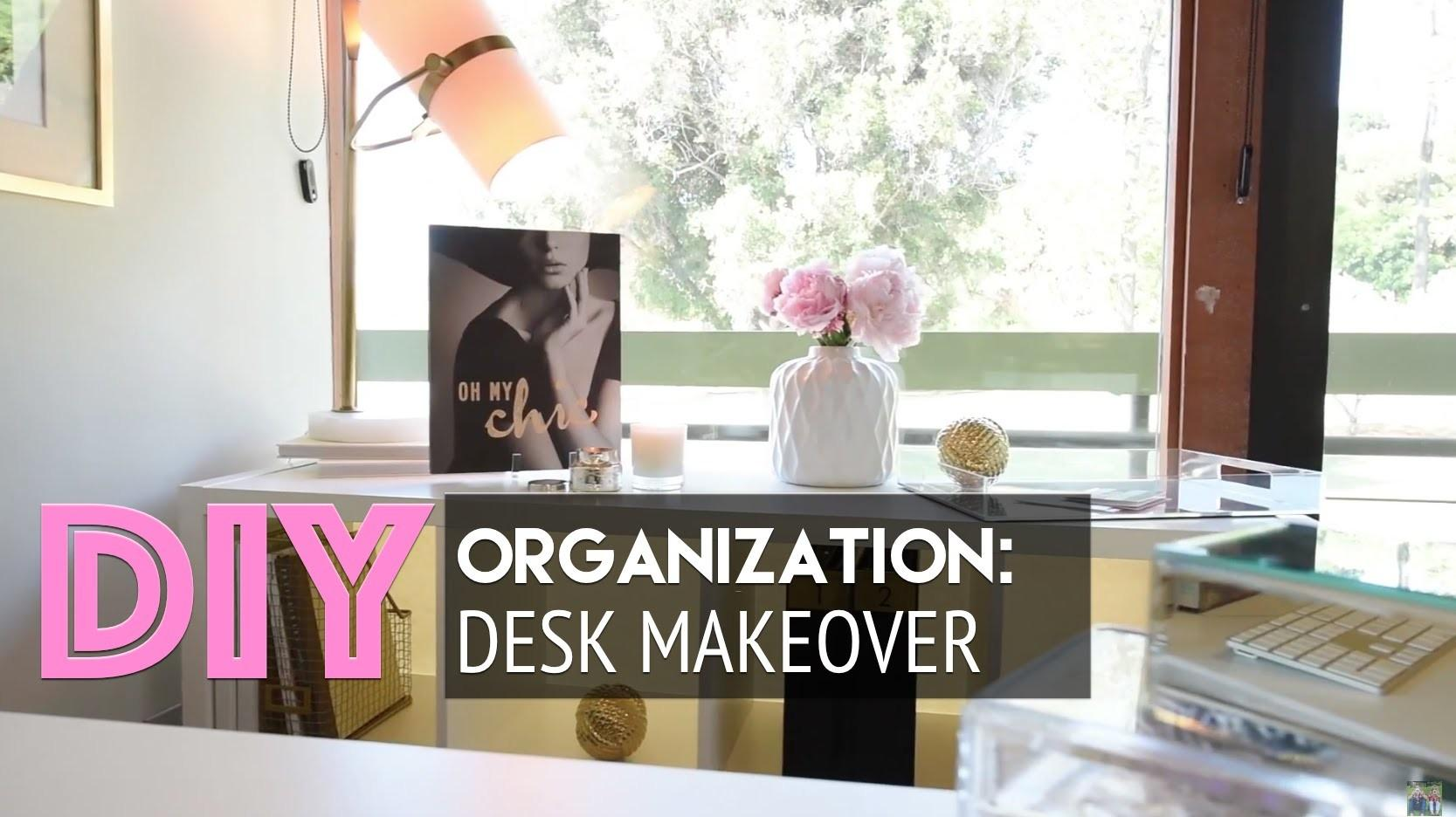 Homegoods Desk Makeover Diy Organization Accessorizing