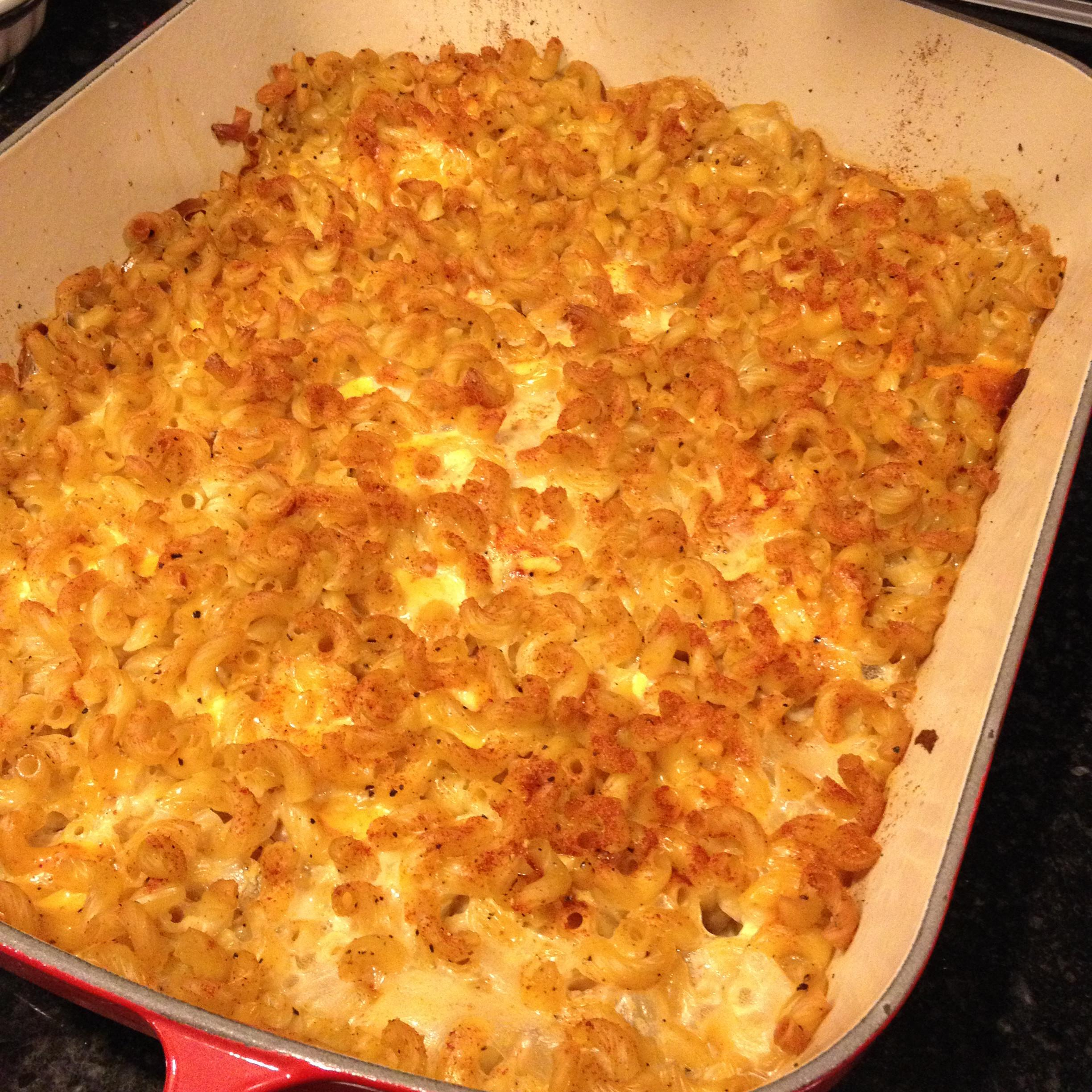 Homemade Baked Macaroni Cheese Recipe Dishmaps