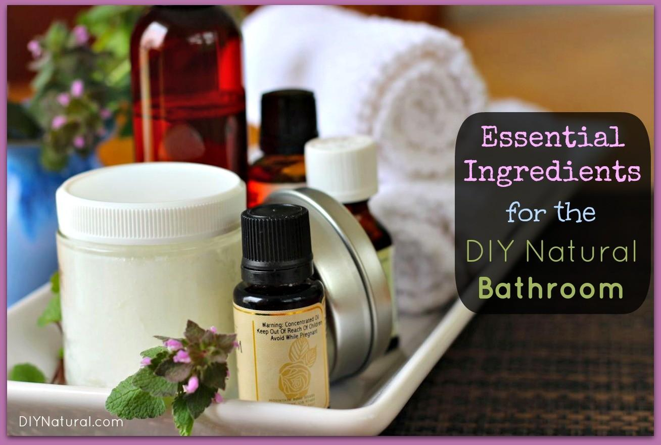 Homemade Beauty Products Essential Ingredients