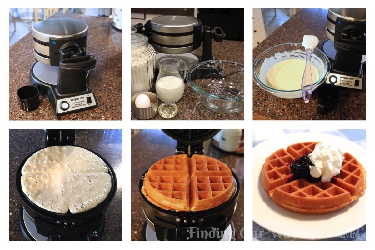 Homemade Belgian Waffles Recipe Finding Our Way Now