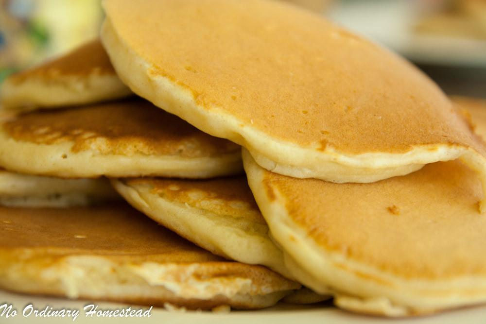 Homemade Buttermilk Pancake Recipe Ordinary Homestead