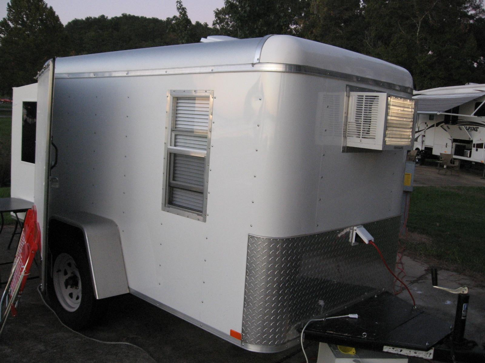 Homemade Cargo Trailer Camper
