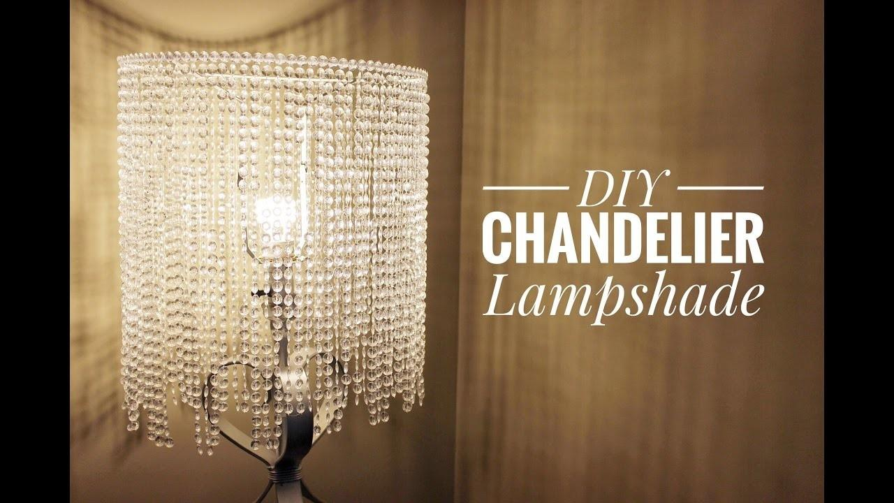 Homemade Chandelier Diy Fabric Easy