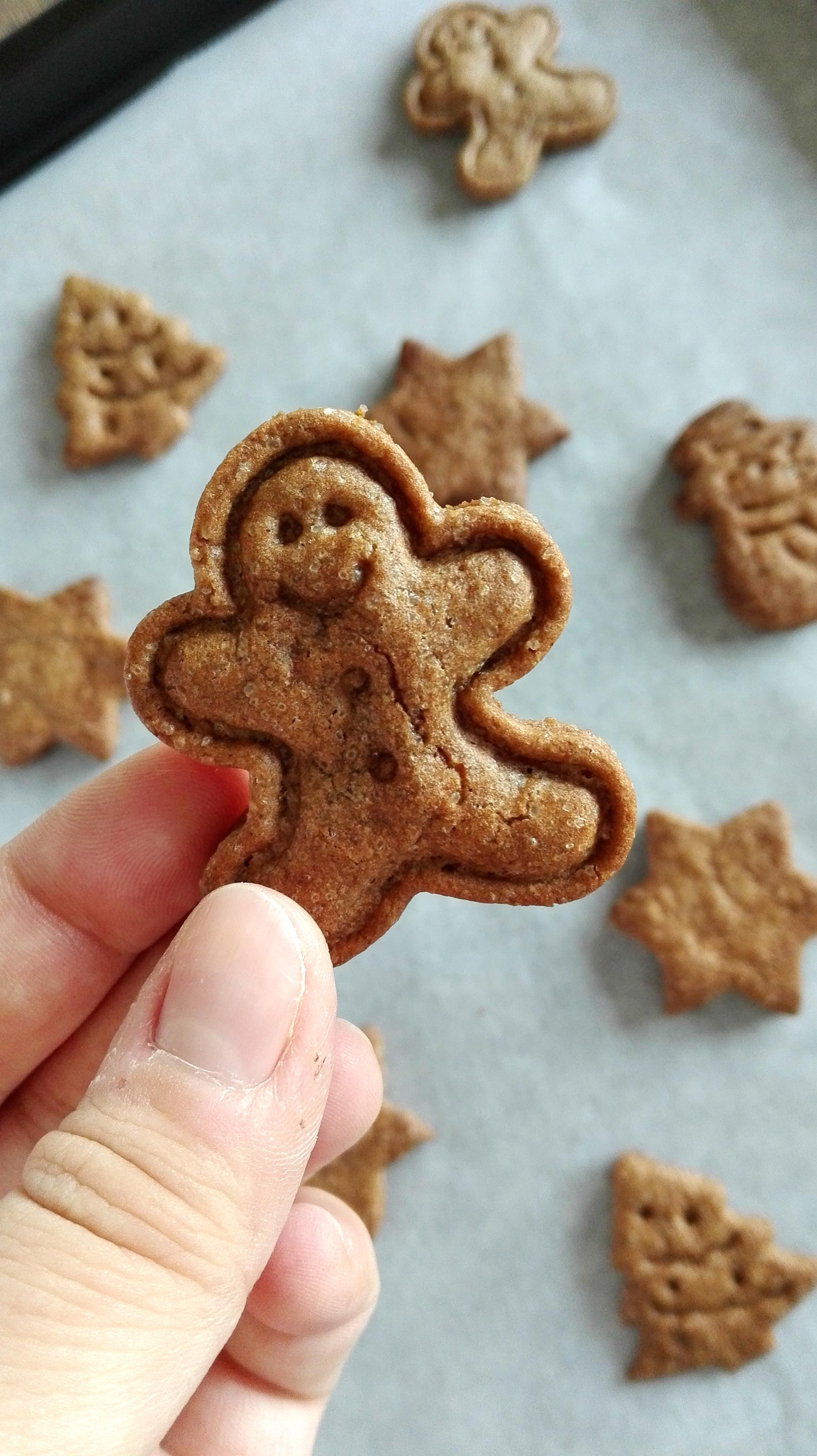 Homemade Christmas Speculoos Cookies Sarah Little Kitchen