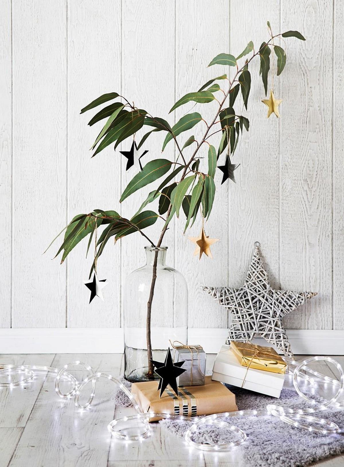 Homemade Christmas Star Ornaments Hang Your Tree