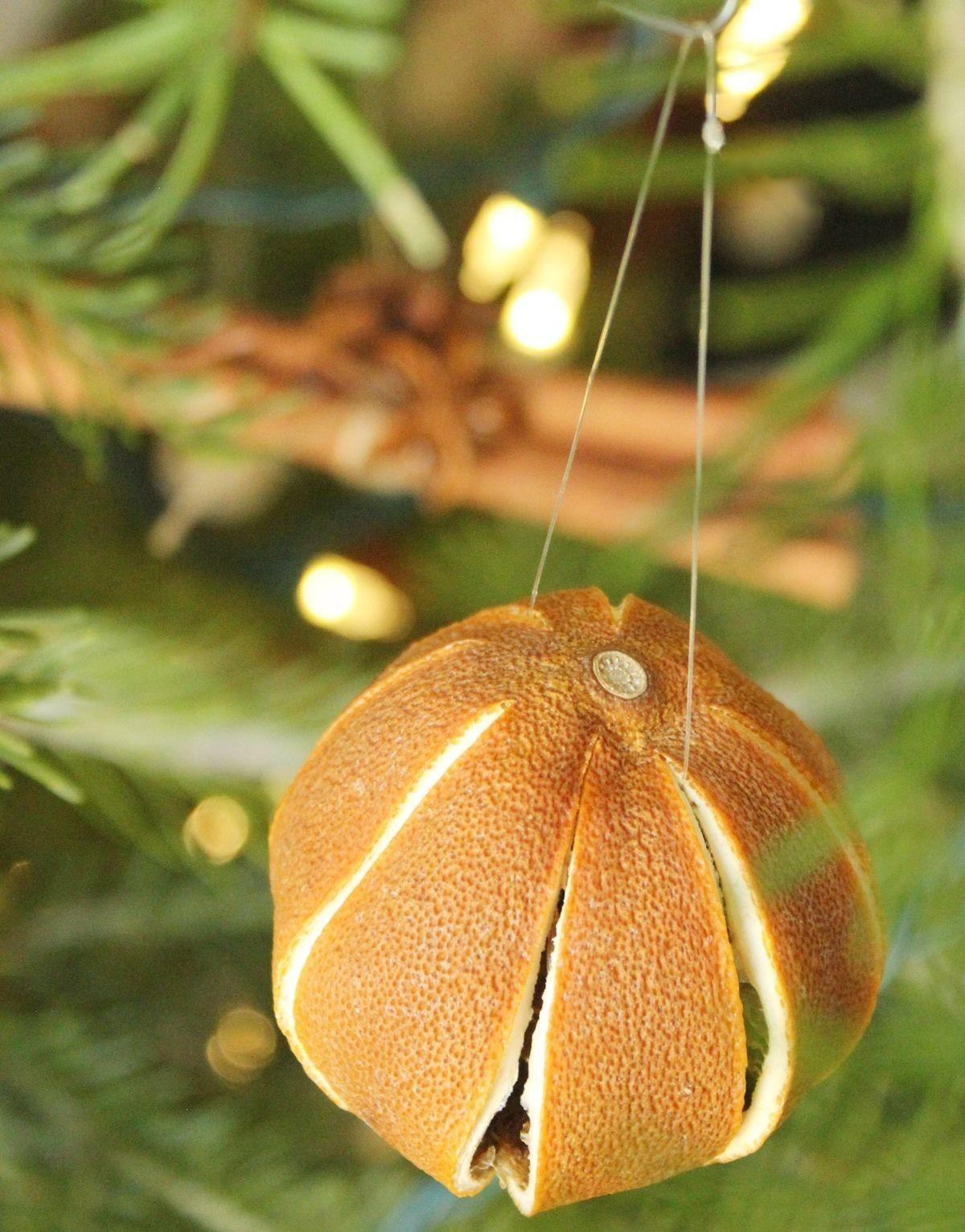 Homemade Christmas Tree Ornaments Natural Roundup