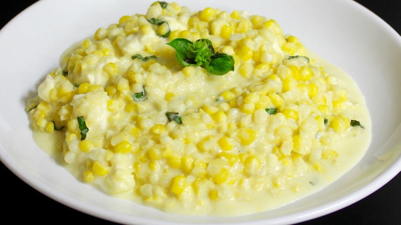 Homemade Creamed Corn Michael Home Cooking
