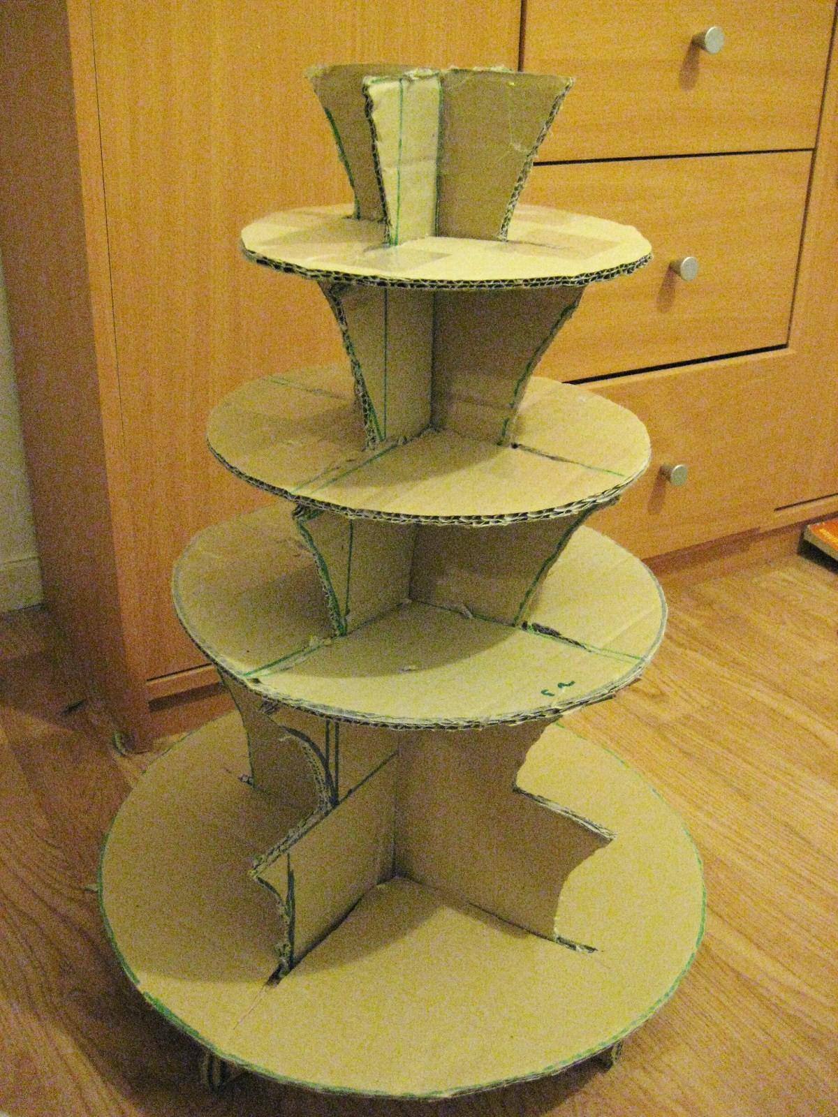 Homemade Cupcake Stand Wilton 415 0724 Pack Corrugated