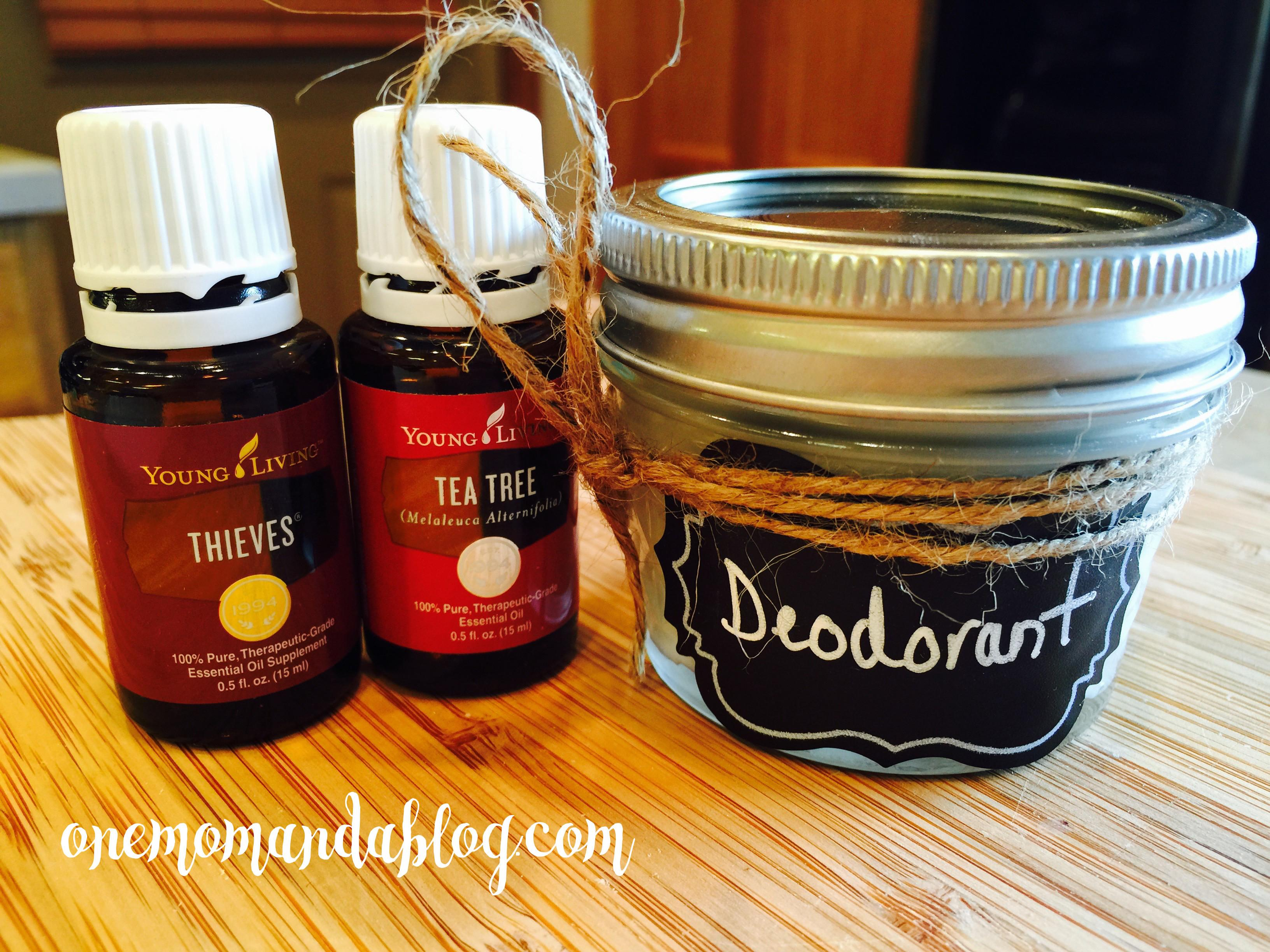 Homemade Deodorant Recipe One Mom Blog