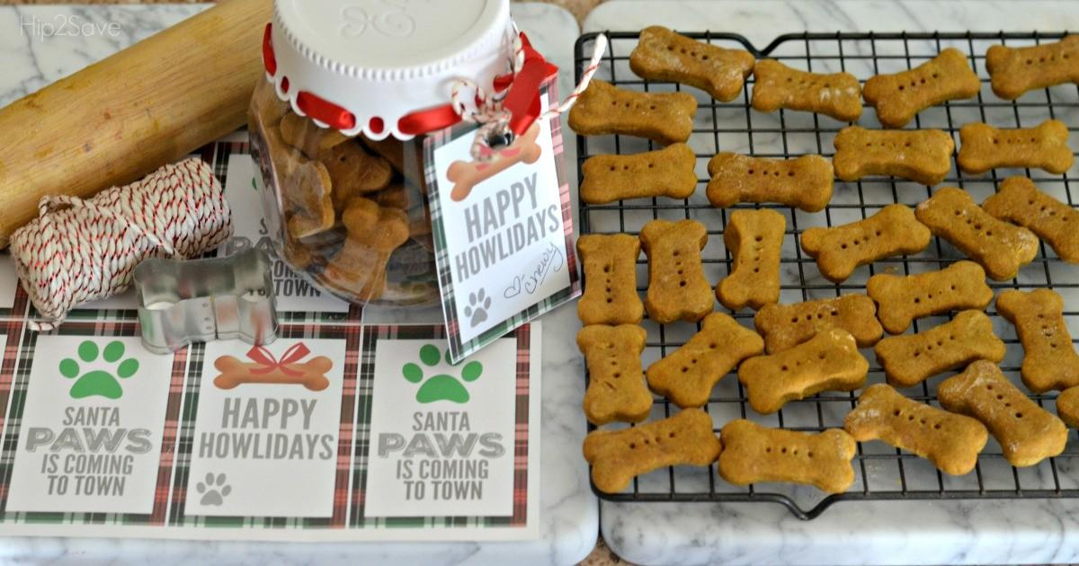 Homemade Dog Treats Recipe Printable Happy