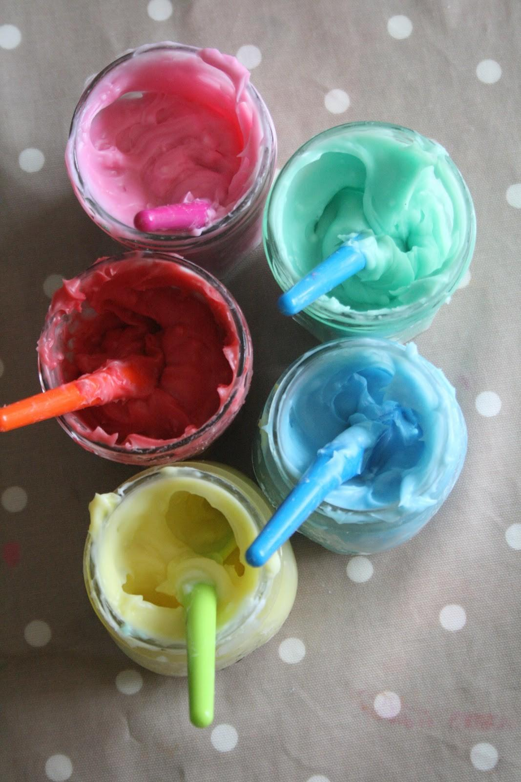 Homemade Edible Finger Paint Recipe Imagination Tree