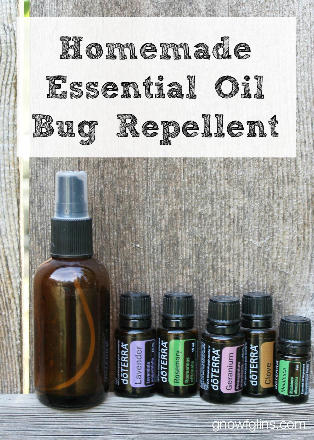 Homemade Essential Oil Bug Repellent Traditional Cooking