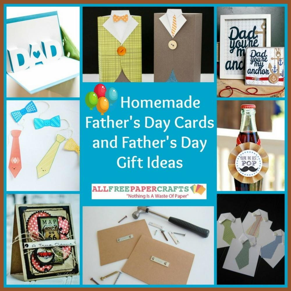 Homemade Father Day Cards Gift Ideas